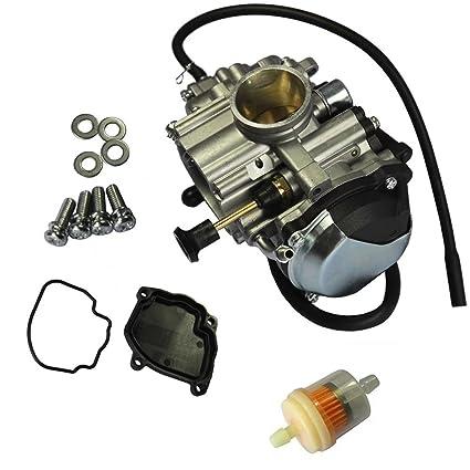 Amazon com: Paddsun Carburetor For Yamaha Bear Tracker 250