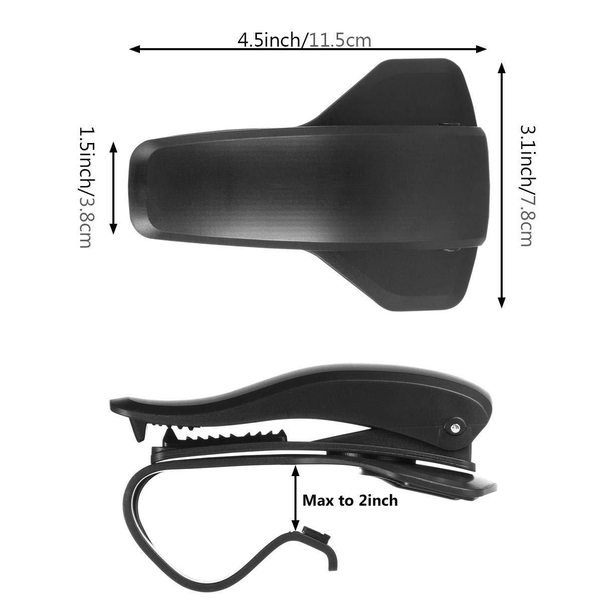 360/° drehbar Kompatibel mit 3 bis 6,5 Zoll von Mobilger/äten rutschfest GeekerChip Autotelefonhalter f/ür Dashboard-HUD-Design