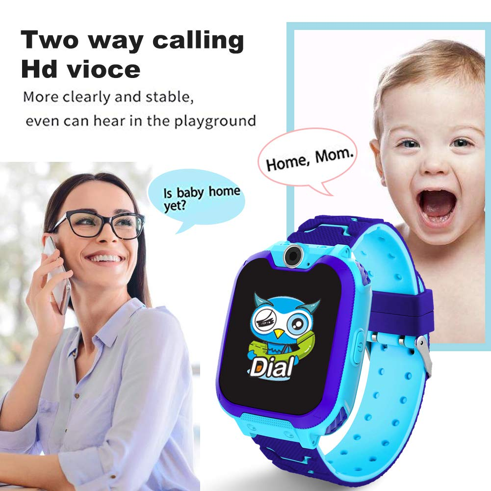 HuaWise Kids Smartwatch [SD Card Included], 1.54 inch Colorful Touch Screen Smartwatch for Children with Quick Dial, Camera and Music Player,Calculator and Alarm for Boys and Girls(NOT Support AT&T) by HuaWise (Image #4)