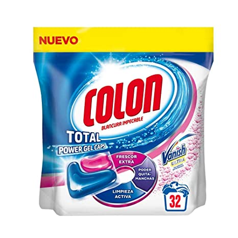 Colon Detergente Total Power Gel Caps Vanish - 32 Dosis