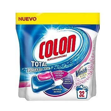 Colon Detergente Total Power Gel Caps Vanish - 32 Dosis: Amazon.es ...