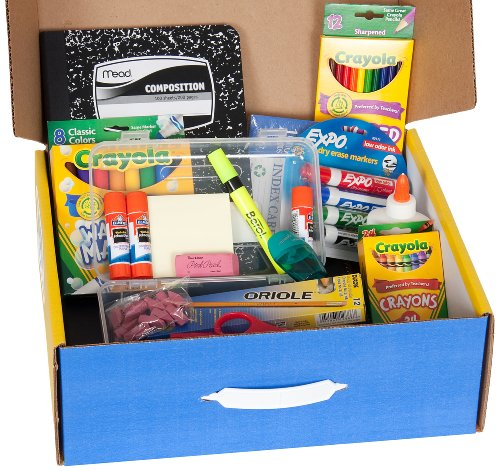 School Tool Box Third Grade Super School Supplies Kit in Keepsake Box