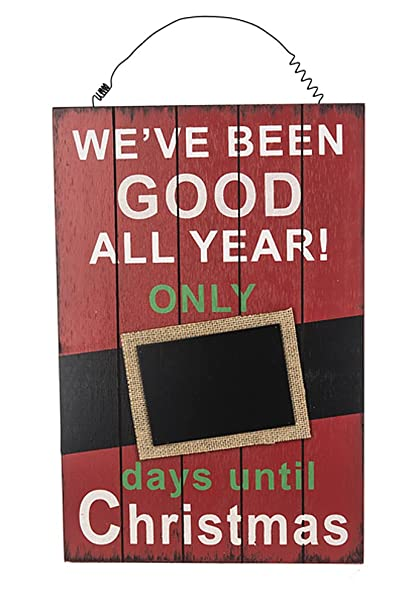 How Many Days Until Christmas Countdown.Amazon Com We Ve Been Good All Year Days Until Christmas