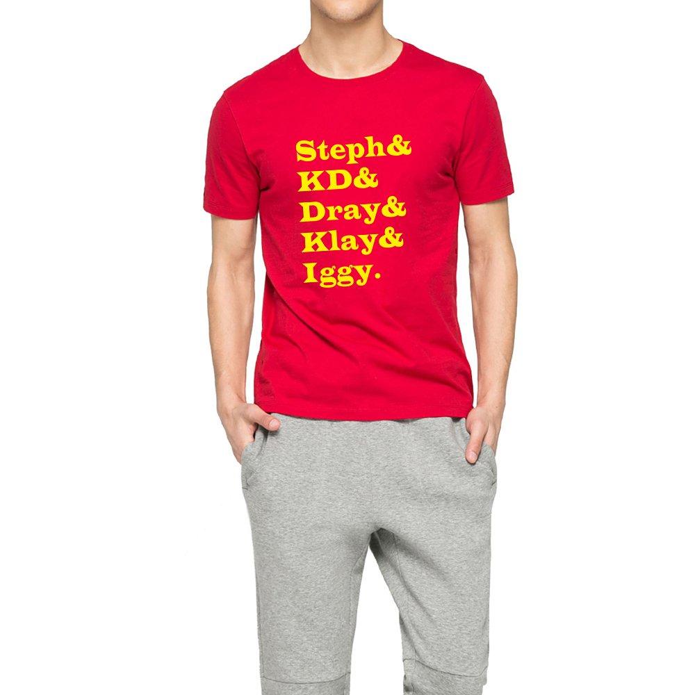 Loo Show Adult Steph Kd Dray Klay Iggy T Shirt Crew T Shirt Tee