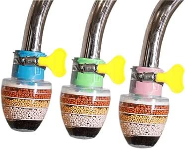 3 Paquetes de grifos Filtros de Agua Purificador de Agua Grifo ...