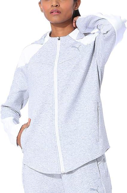 PUMA Women's Evostripe Fz Hoody Pullover: Amazon.co.uk: Clothing