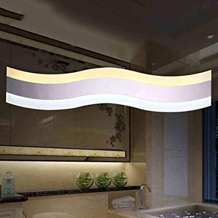 SED Bath Mirror Lamps  Bathroom Led Mirror Front Lights Simple And Modern  Stainless Steel Acrylic