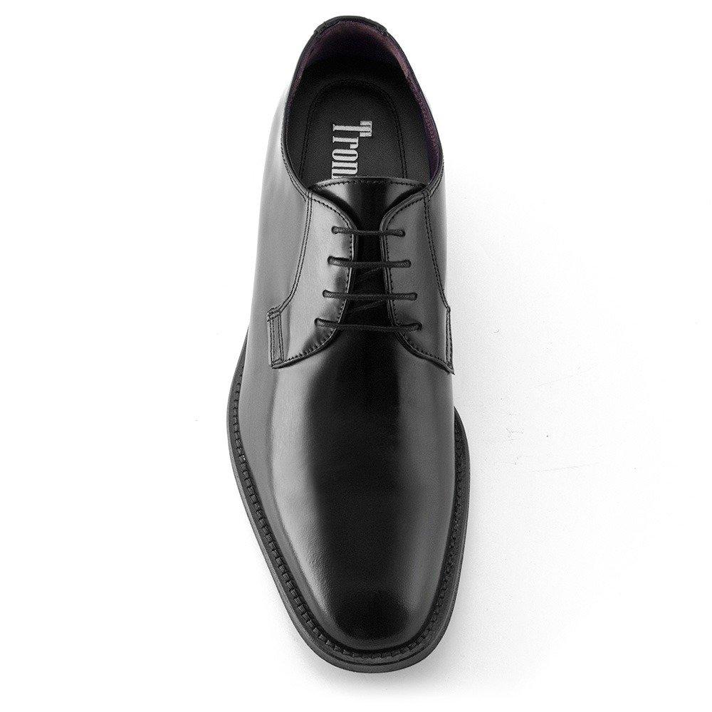 Masaltos Schuhe Herrenschuhe Die auf Unsichtbare Weise 7 Ihre Körpergrösse bis zu 7 Weise cm Erhöhen. Herrenschuhe mit Verstecktem Absatz. Modell Oporto Schwarz 0ca714