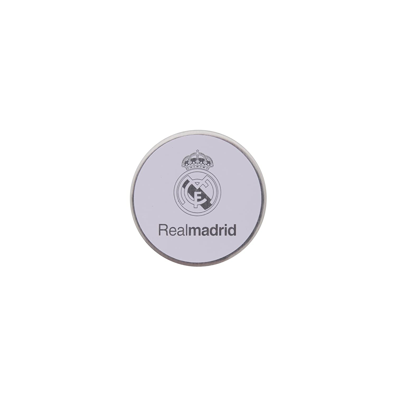 Real Madrid CF - Marcador oficial para bolas de golf (Talla Única/Blanco/Amarillo/Azul): Amazon.es: Ropa y accesorios
