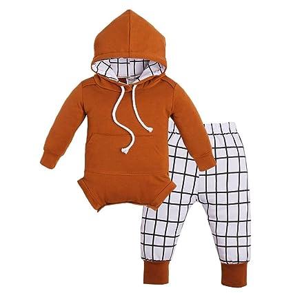 bbafc4851fdda Amazon.com  Teresamoon Sale Hooded Romper , Baby Girls Boys Outfits ...
