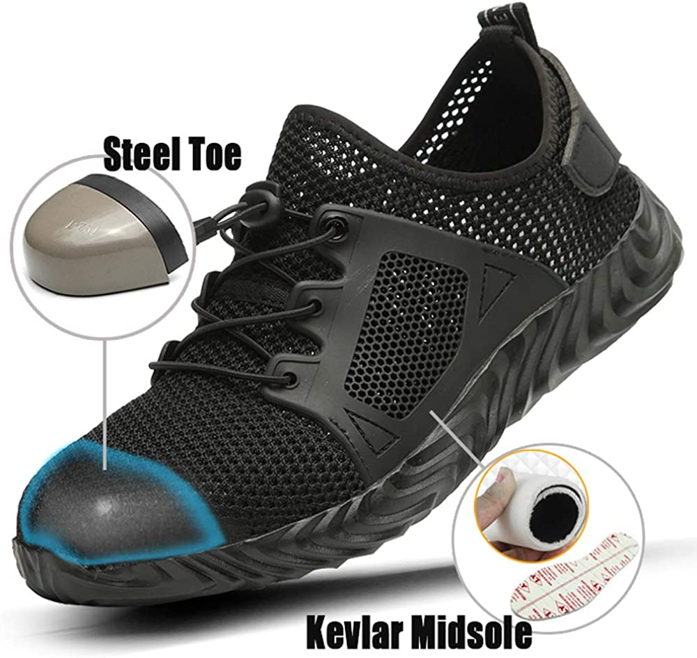 Mens Safety Shoes Work shoe anti skid and wear-resistant shoes