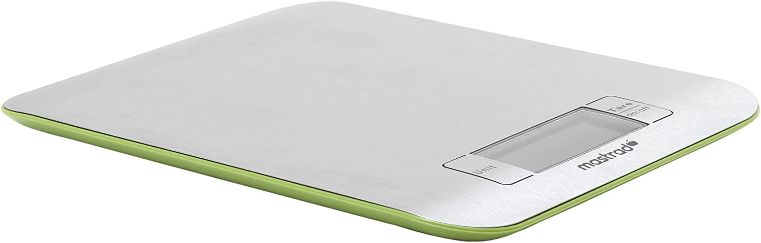 Mastrad Stainless Steel Kitchen Scale, Green