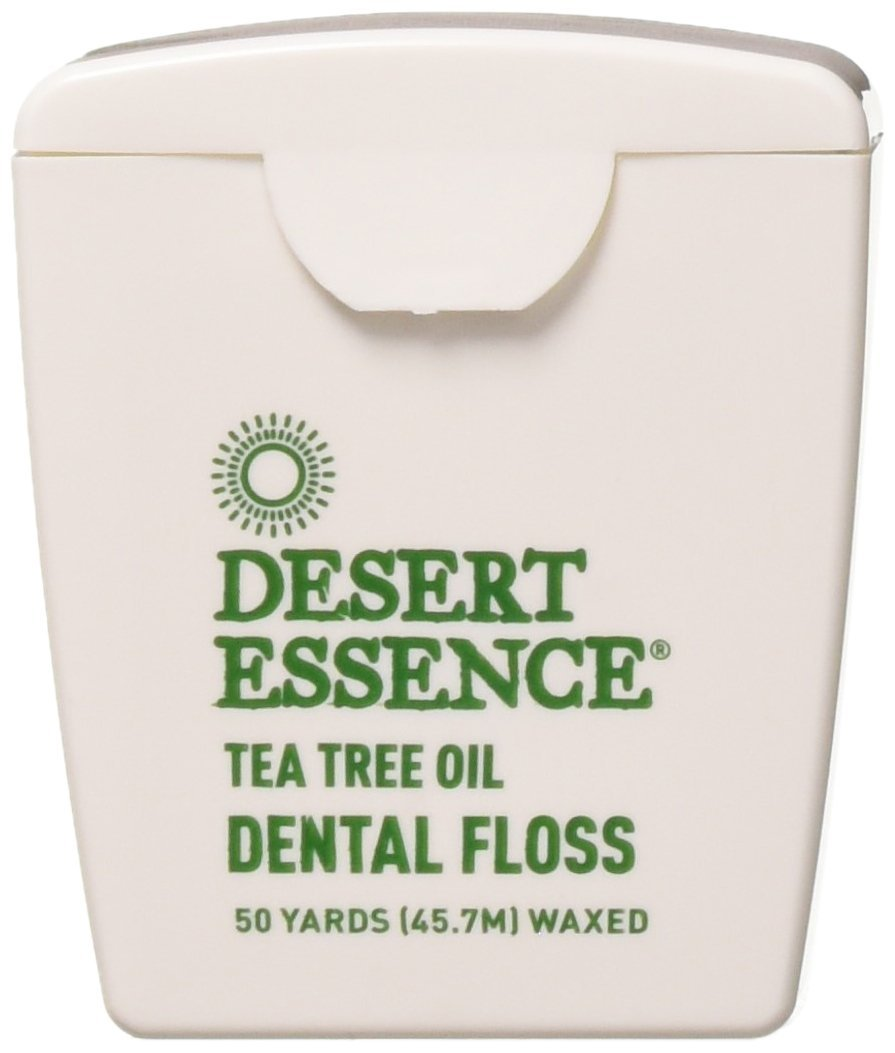 Desert Essence Tea Tree Dental Floss (Pack of 6) 50 YD 3416NDE