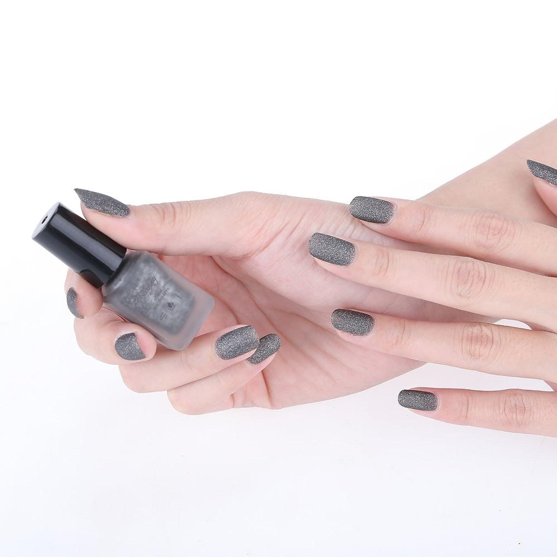 ♥vernis à ongles,Xjp®8 couleurs Ongles mat givré bouteille de vernis♥
