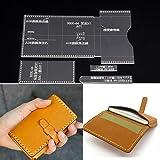 18f32aee1 PANINA 4 bolsas de cartón acrílico transparente para mensajería, plantilla,  piel, manualidades