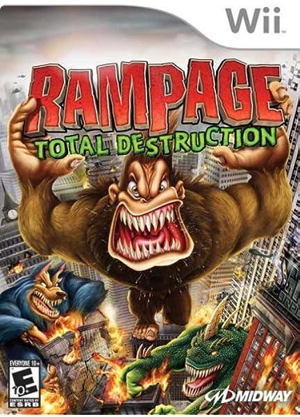 Amazon Com Rampage Total Destruction Nintendo Wii Artist Not
