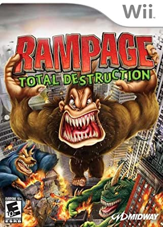 Amazon Com Rampage Total Destruction Nintendo Wii Artist Not