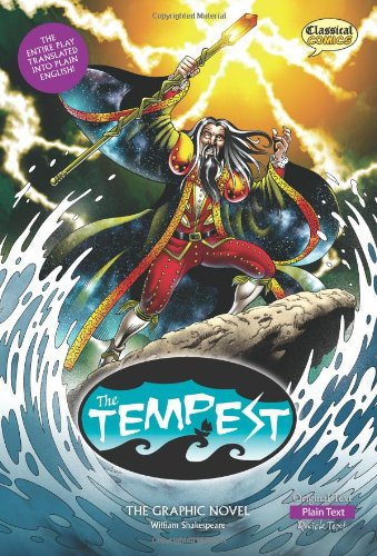 The Tempest The Graphic Novel: Plain Text (American English) by Classical Comics
