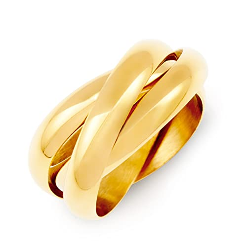 Amazoncom Gold Triple Roll Russian Wedding Ring Clearance Final