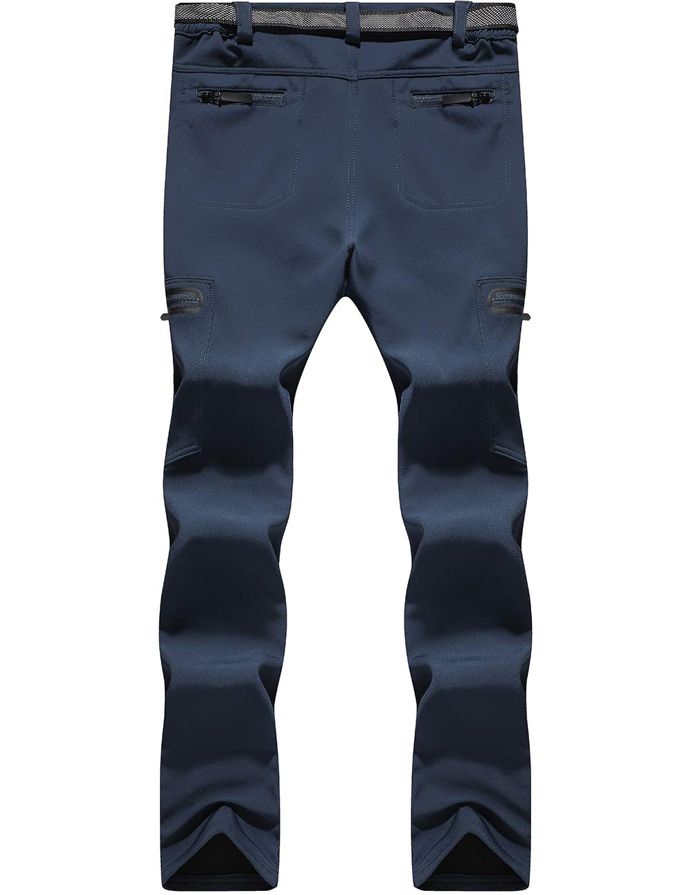 DENGBOSN Donna Pantaloni Trekking Invernali Impermeabile Pantaloni Softshell Caldo Outdoor Pantaloni da Escursionismo Arrampicata