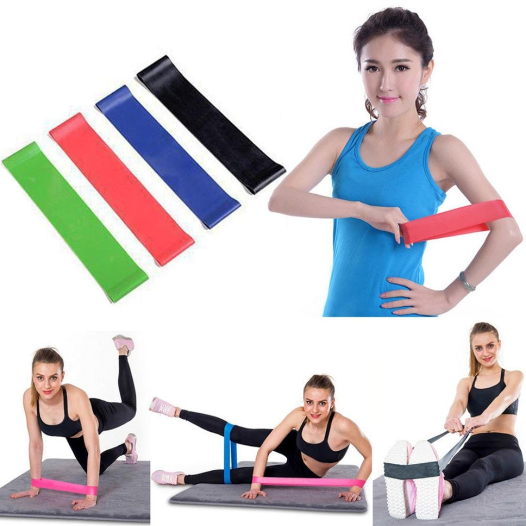 Amazon.com: Yoga Bands,Chartsea 1Pc Resistance Band Loop ...
