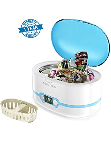 Crafts Fashion Style Medium Steel Sieve Glass Jar For Cleaning Watch Parts Or Items Of Jewellery