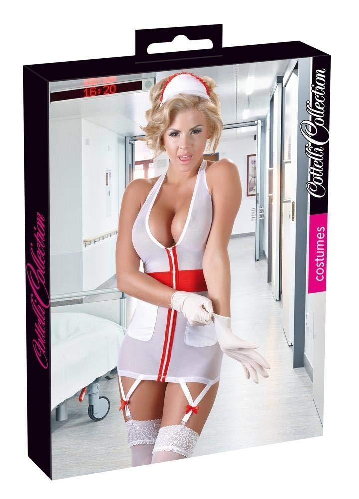 Cottelli Collection Costumes 24705782041 Krankenschwester, L, weiß , 1 Stü ck