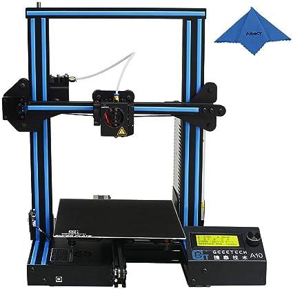 Geeetech Impresora 3D Kit (Versión Mejorada) DIY de aluminio I3 ...