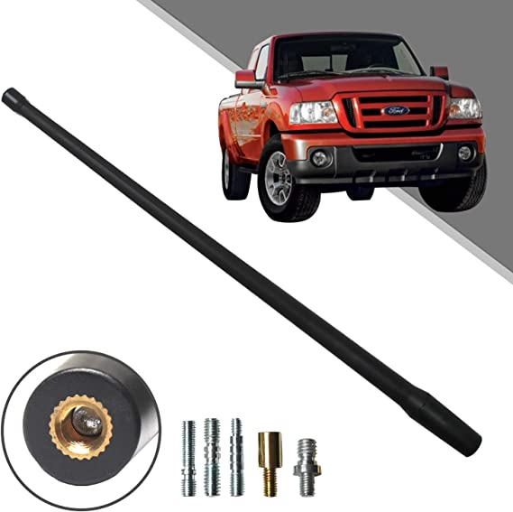Optimized FM//AM Reception. Beneges 13 Inch Flexible Rubber Replacement Antenna Compatible with 1982-2011 Ford Ranger