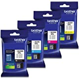 Brother LC-3029XXL Ink Cartridge Set of Black, Cyan, Magenta, Yellow in Retail Packing
