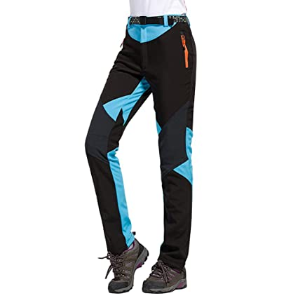 Image Unavailable. Image not available for. Color  Women Fleece Skiing  Pants Outdoor ... 5a36ebe71