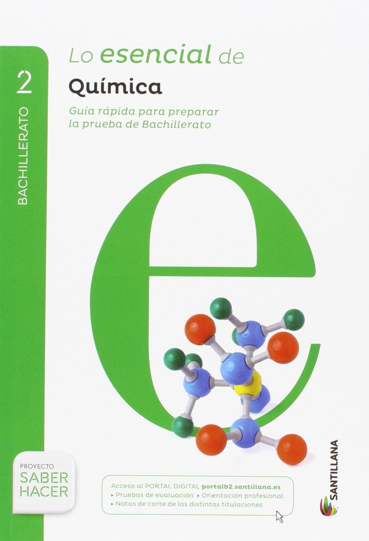 Pack QUÍMICA SERIE INVESTIGA 2 BTO SABER HACER + Lo esencial de Quimica: Amazon.es: Aa.Vv.: Libros