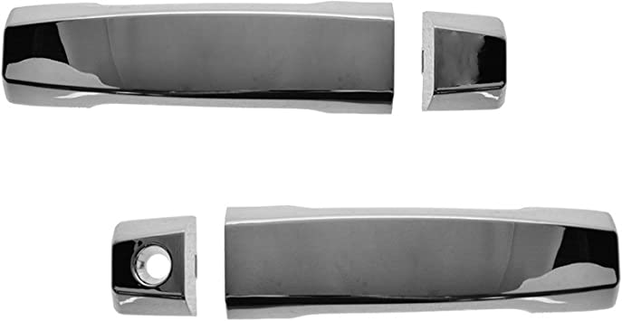 Exterior Outside Door Handle All Chrome Front Rear Left Right EACH for 06-10 H3