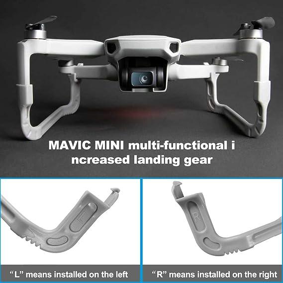 XBERSTAR 2Pcs Extended Landing Gear Leg for DJI Mavic Mini Drone Accessories
