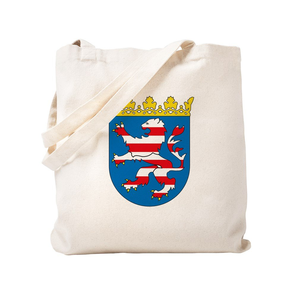 CafePress - Hessia Coat Of Arms - Natural Canvas Tote Bag, Cloth Shopping Bag