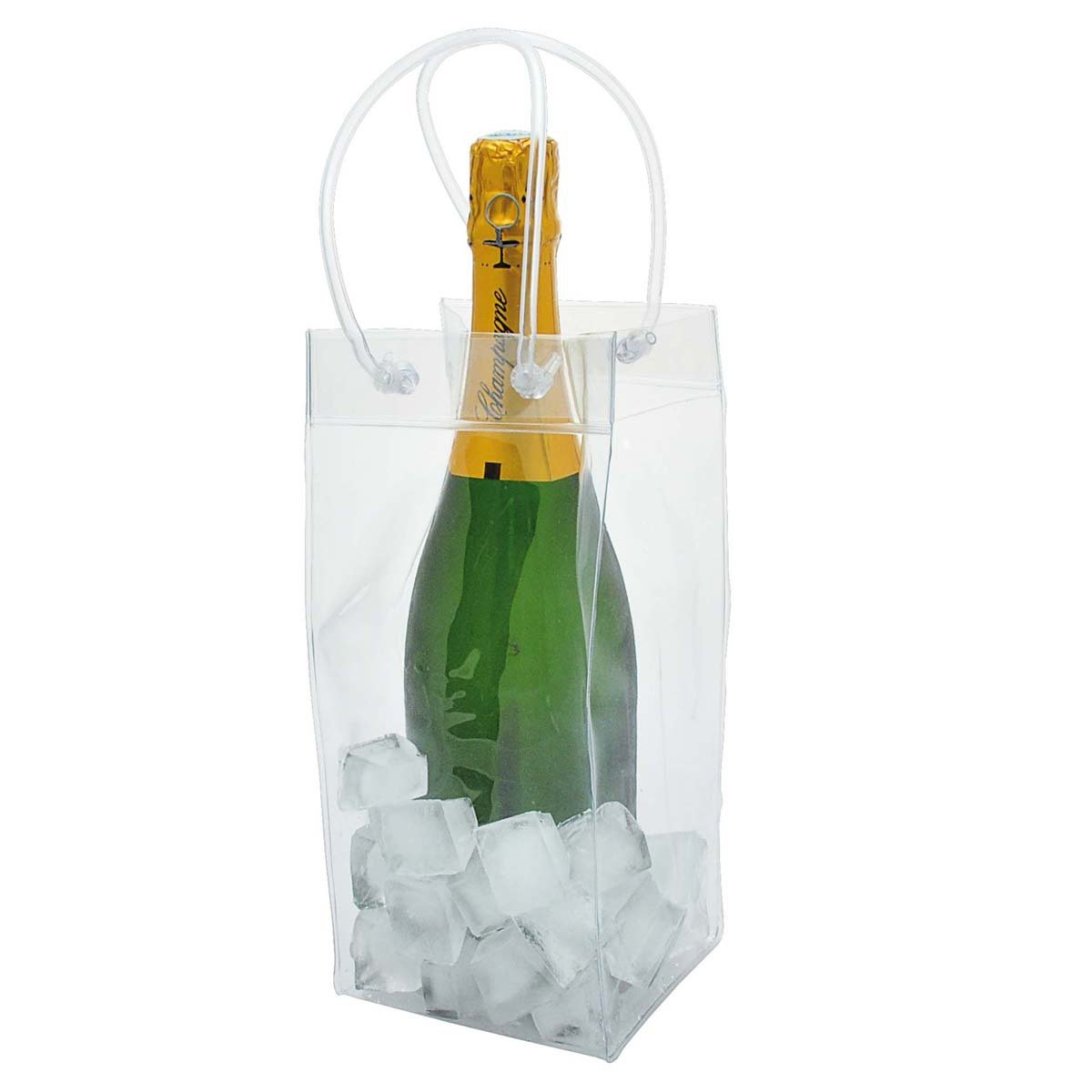 Wine Chiller Ice Bag Party Wine Cooler With Handle