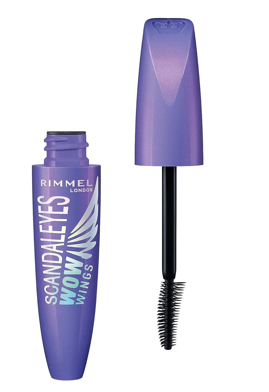 3ac9735981c Amazon.com : Rimmel Wow Wings Mascara, Waterproof Black, 0.4 Fluid Ounce :  Beauty