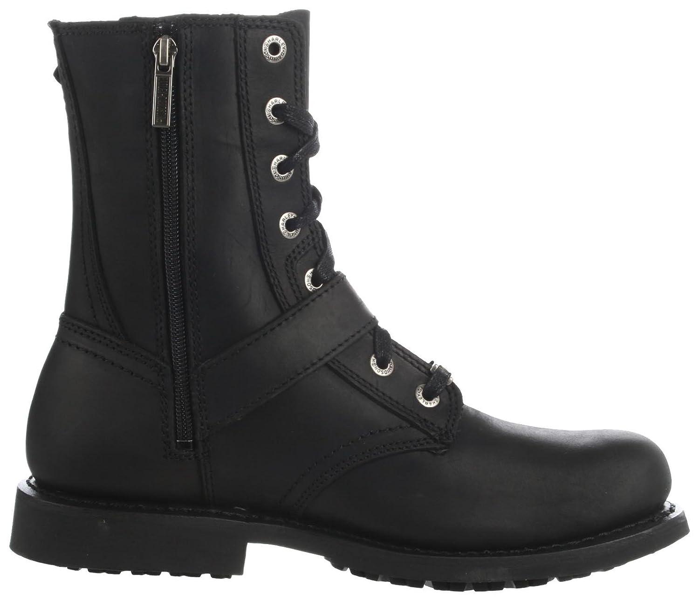 Harley davidsonranger - Botas con I cordones - Black: Amazon.es: Zapatos y complementos