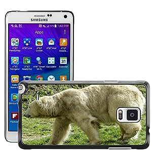 Super Stella Slim PC Hard Case Cover Skin Armor Shell Protection // M00146275 Polar Bear Bear Female Animal Mammal // Samsung Galaxy Note 4 IV