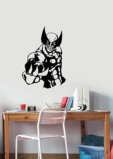 Amazon.com: Wolverine Vinyl Sticker Wall Decal Marvel Comics ...