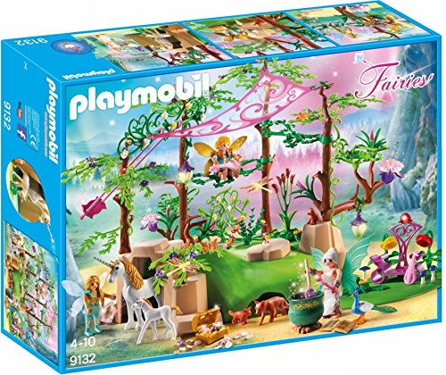 PLAYMOBIL Magical Fairy Forest Playset, -