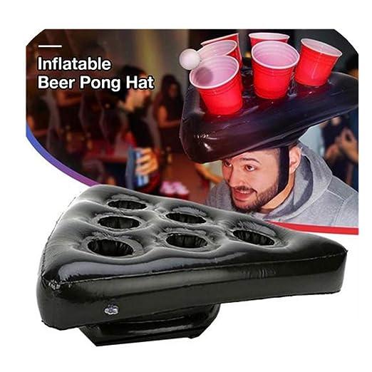 Nearthfr - Sombreros hinchables de Cerveza de Pong para Juegos de ...