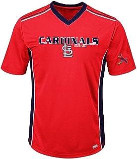 9d0b3bcc Amazon.com : Majestic 2-Button Cool-Base St. Louis Cardinals 2-Color ...