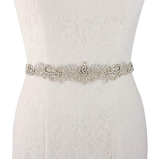 Azaleas New Vintage Crystal Wedding Belt Dress Belt Crystal
