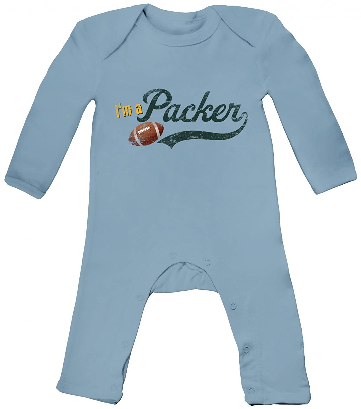 Football #1 Babybody I am a Football Baby American Football Superbowl Baby Body