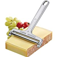 Westmark Germany Heavy Duty Stainless Steel Wire Cheese Slicer Angle Adjustable (Grey),7″ x 3.9″ x 0.2″ -