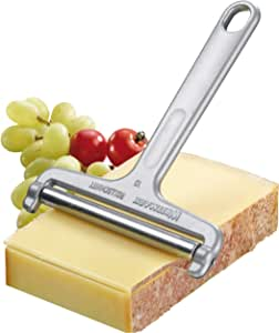 "Westmark Germany Heavy Duty Stainless Steel Wire Cheese Slicer Angle Adjustable (Grey),7"" x 3.9"" x 0.2"" - 71002270"