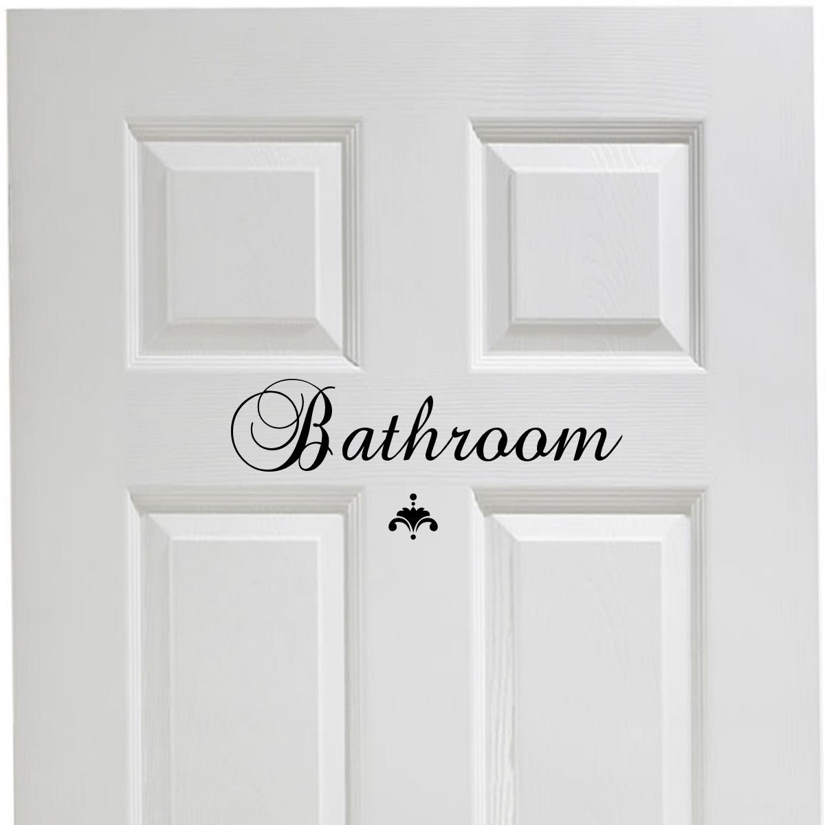 Bathroom Vinyl Decal Decor Vinyl Wall Decal Great House Warming Gift Powder Room Wall Decor © Decal the Walls by Decal the Walls