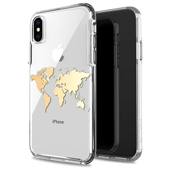 reputable site c10cc 98c5e Amazon.com: JIAXIUFEN Compatible with iPhone X Case iPhone Xs Shiny ...