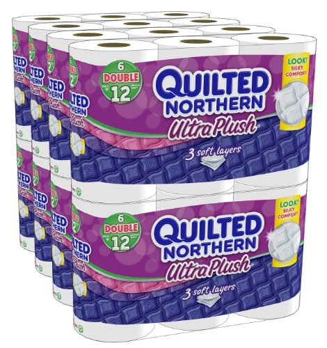 Quilted Northern Double Ultra Plush Rolls-96-rolls